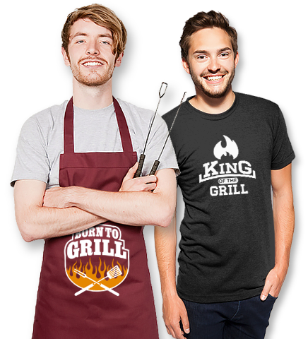 lustige grillsch rzen spr che coole grill t shirts. Black Bedroom Furniture Sets. Home Design Ideas
