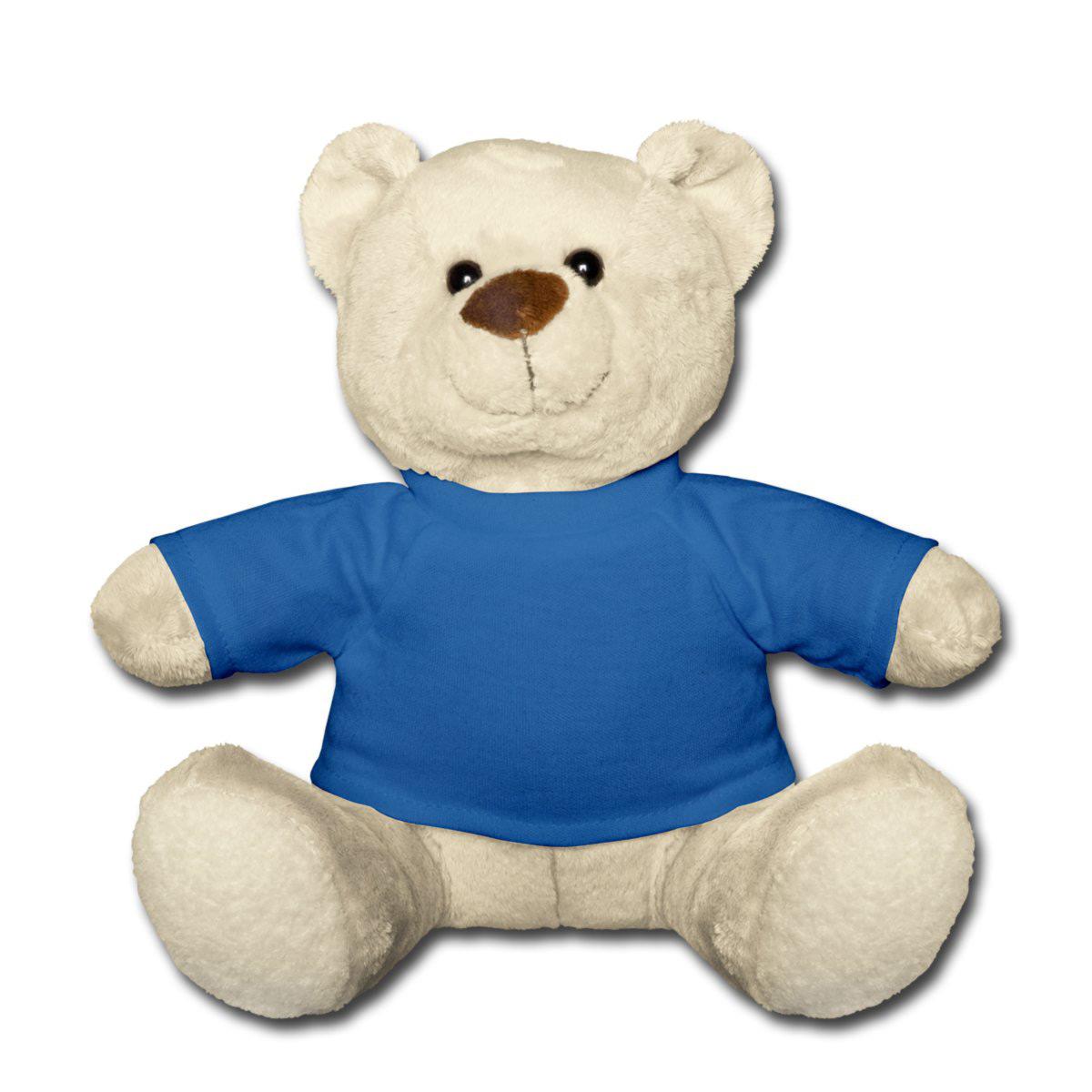 Teddybären bedrucken - Teddybär mit Namen gestalten