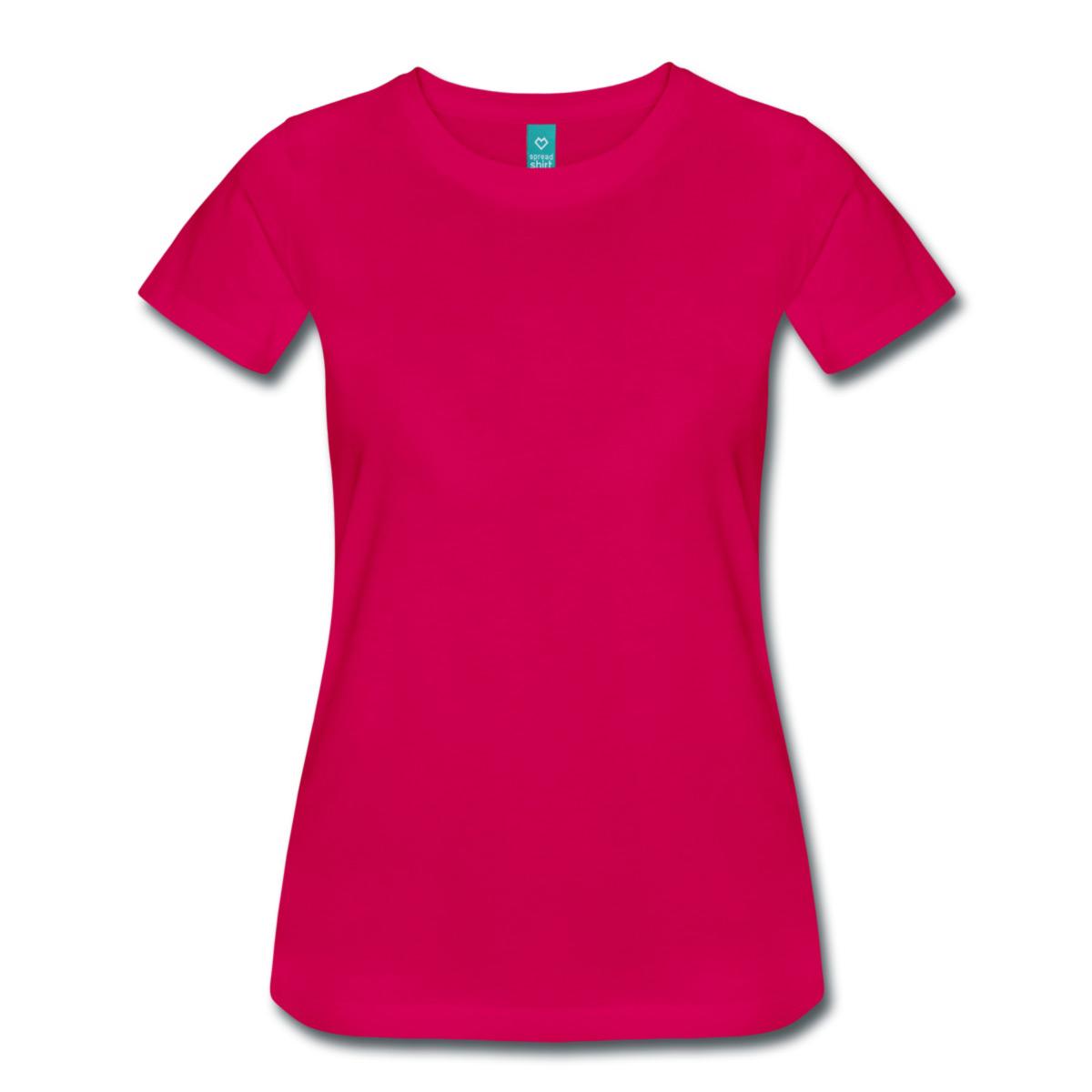 bed230444b1d0b Frauen Premium T-Shirt mit eigener Aufschrift