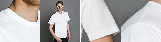 American Apparel T-Shirt in Detailansicht