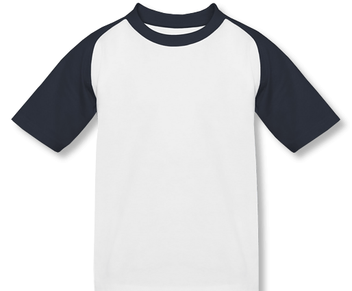 Kinder Baseball T-Shirt mit Namen
