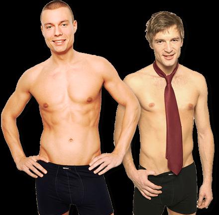 Unterwäsche bedrucken - Männer Unterwäsche online gestalten