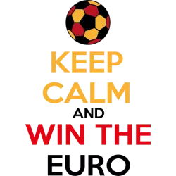 Keep calm and win the Euro