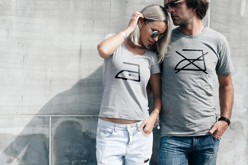 Bedruckte T-Shirts bügeln