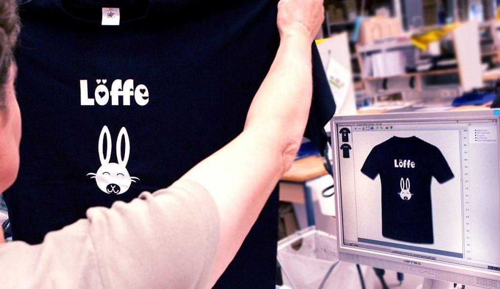 Druckdaten für T-Shirt Druck