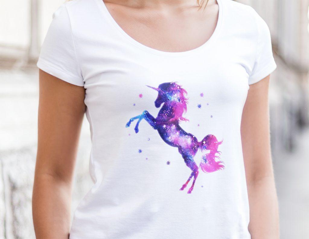 einhorn t shirt f r kinder unicorn shirts selbst gestalten. Black Bedroom Furniture Sets. Home Design Ideas