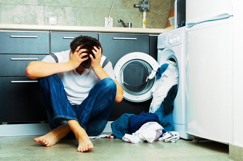 Fehler beim Wäsche waschen