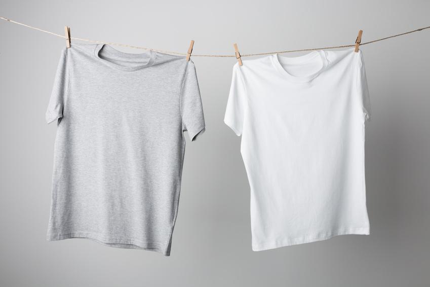 Weiße flecken nach waschen kleidung