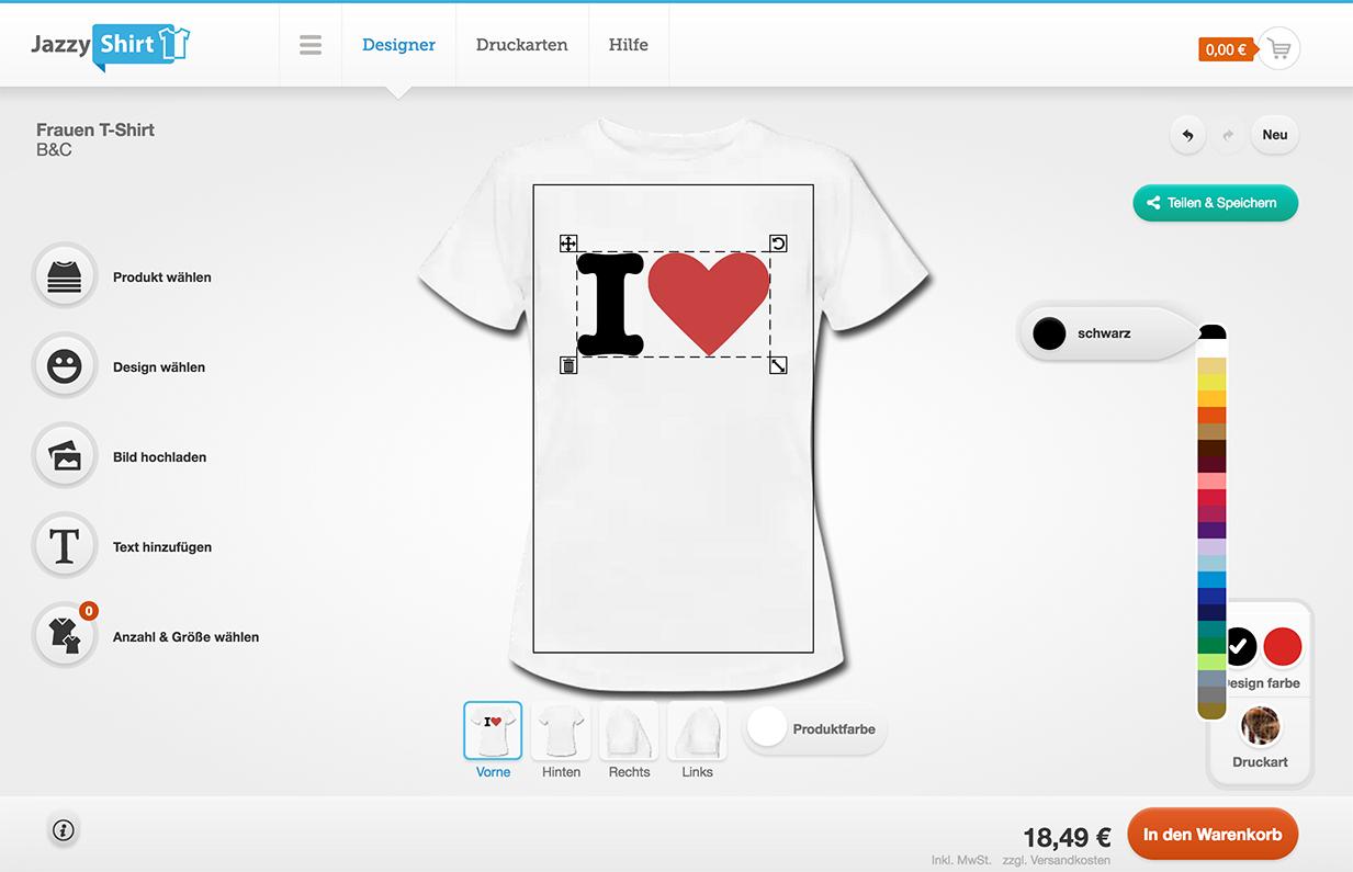 Wie man die richtigen T-Shirt Druckdaten anlegen kann