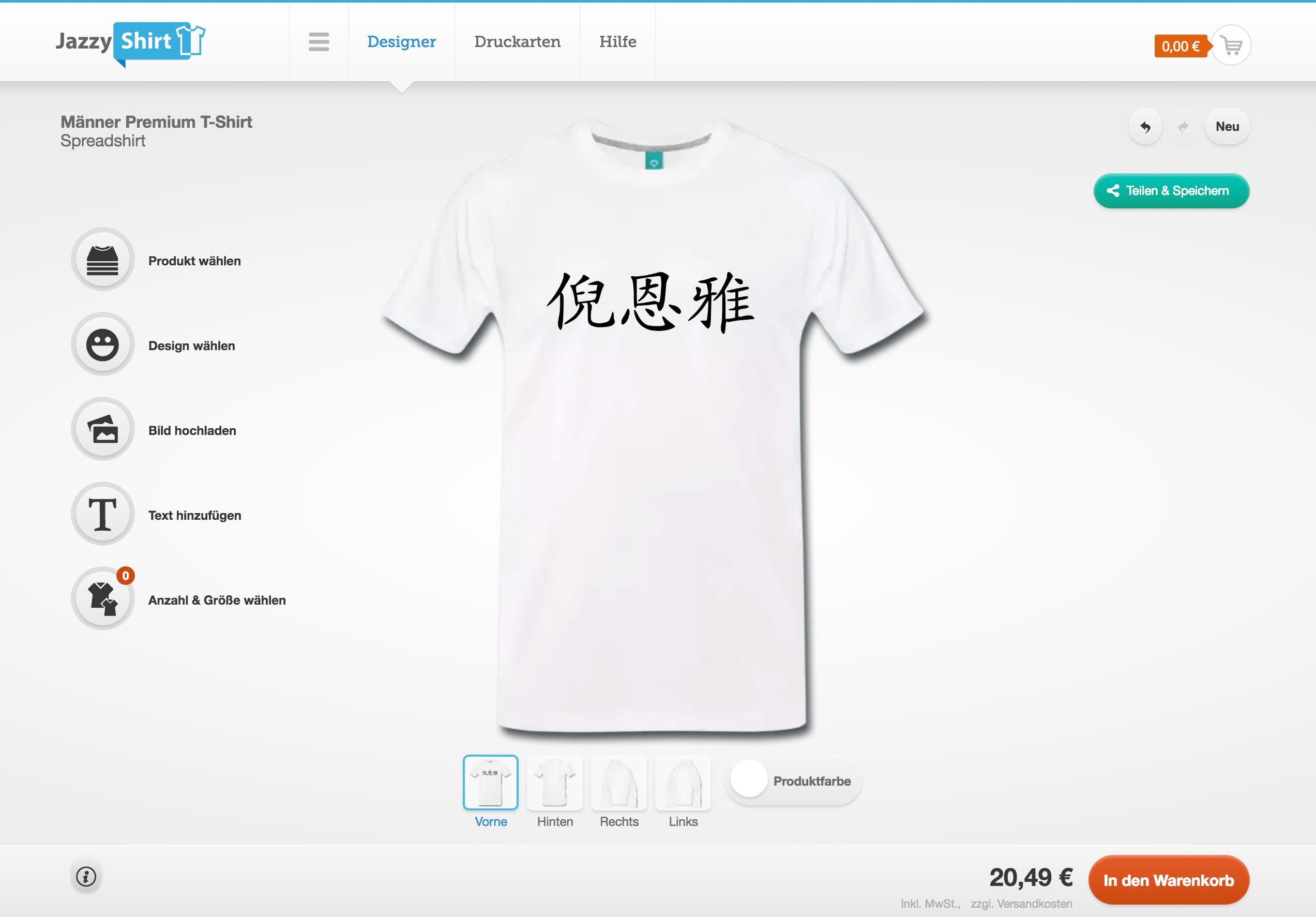 on sale e0735 bc65a T-Shirt Designer starten und T-Shirts selbst gestalten